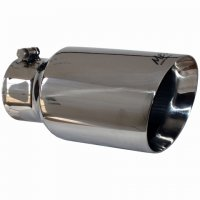 "MBRP Angled Exhaust Tip (4"" Inlet, 6"" Outlet) T5072"