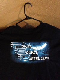 Power Source Diesel T-Shirt