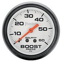 Auto Meter Phantom Series Boost Gauge 5705