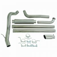 "MBRP 4"" XP Series Turbo-Back Exhaust System S6240409"