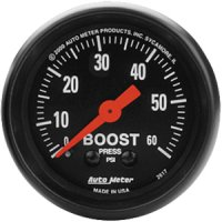 Auto Meter Z-Series Boost Gauge 2617