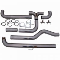 "MBRP 4"" XP Series Downpipe-Back Dual Exhaust Stack System S8000409"