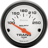 Auto Meter Phantom Series Transmission Temp. Gauge 5757