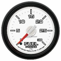 Auto Meter Factory Matched Fuel Pressure Gauge 8560