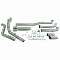 "MBRP 4"" Dual XP Series Turbo-Back Exhaust System S6210409"