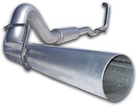 "MBRP 4"" Installer Series Turbo-Back Exhaust System S6206AL"